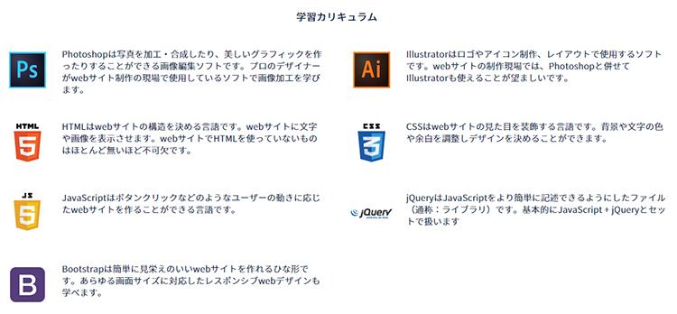 コードキャンプのデザインマスターコースはフォトショップも勉強できる