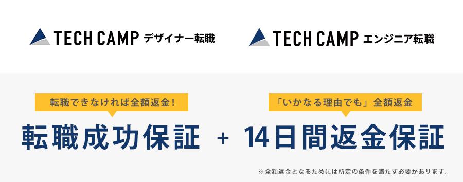 エンジニア転職にも最適なTECHCAMP(テックキャンプ)